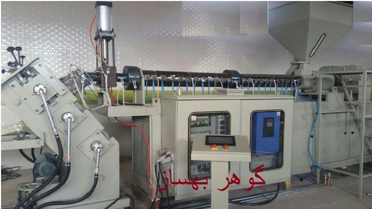دستگاه تولید ورق pp